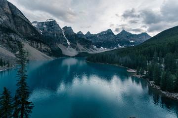 Lake Morraine, Alberta Alaska in the Summer
