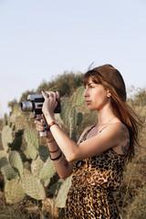 8mm Cactus Filming