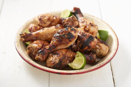 Grilled Mexian Chicken Legs