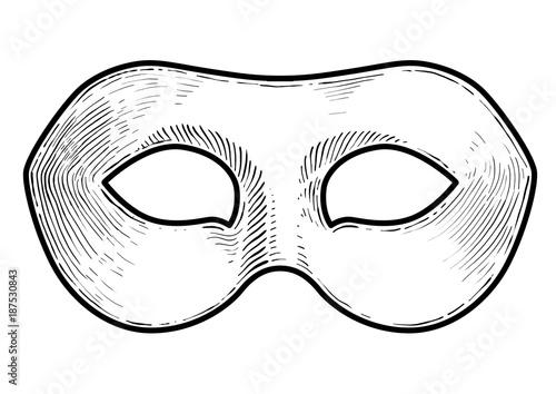 Art Mask Drawing Masquerade Mask Design