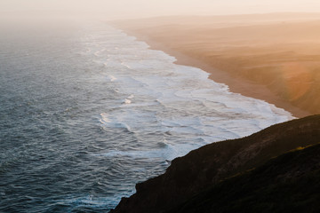 South Beach at sunrise - Point Reyes National Seashore.