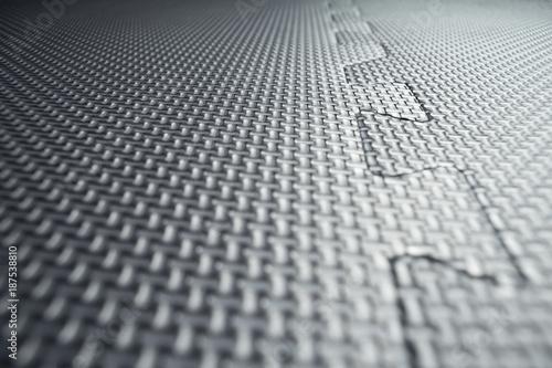 Heavy Duty Black Rubber Flooring Tiles Inside A Gym Dance Studio - How to clean black rubber gym flooring