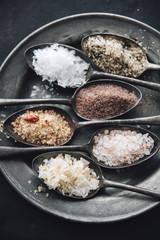 Food: Different sorts of salt