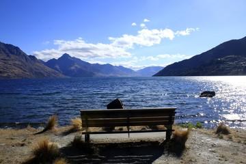 Lake Wakatipu,Queenstown,New Zealand