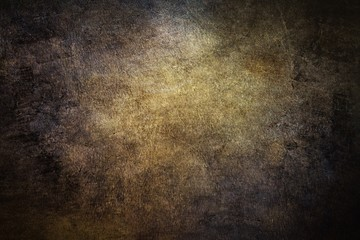 Detailed background imaged of brown cracked leather.