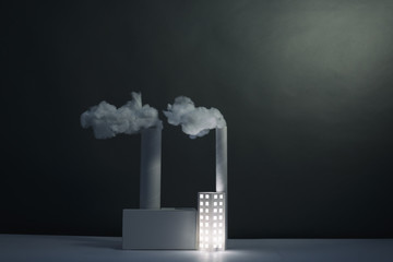 Paper Power Station, (horizontal)