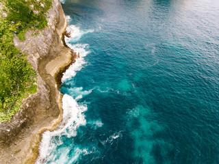 Seashore of ocean