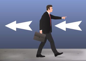 différent - innovation - vision - concept - leadership - entreprise - visionnaire - révolution - contraire