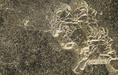 Pyrite textures, macro