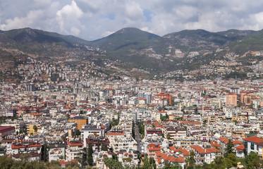 Alanya Town in Antalya, Turkey