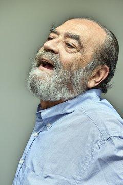 Happy Hispanic Grandpa