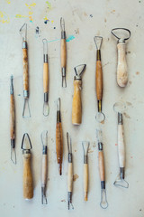 Wooden Clay Modeling Tool