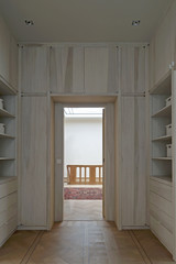 Dressing room and staircase