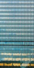 Modern skyscraper facade