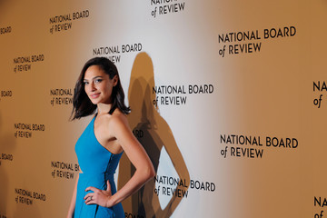 Actor Gal Gadot arrives to attend the National Board of Review awards gala in New York