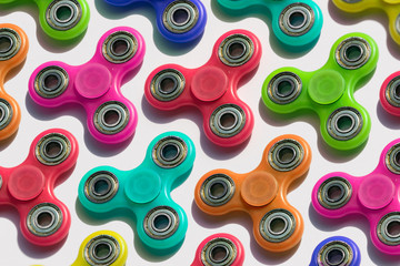 Spinner: Variety Of Colored Fidget Toys