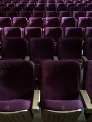 empty theatre chairs