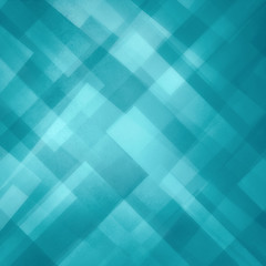 abstract blue background in bright light blue color with layers of white diamond and triangle shapes in transparent design, elegant modern art background