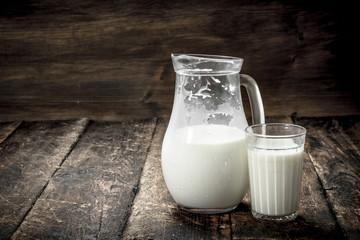 Fresh cow's milk.