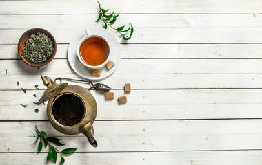 Aromatic Indian tea.