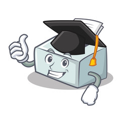 Graduation printer character cartoon style