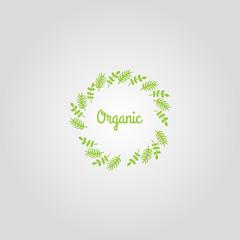 Organic Logo Template Vector Icon