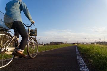 秋 自転車