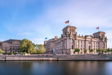 Reichstag in Berlin, Deutschland.