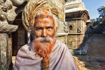 Sadhu, Pashupatinath, Kathmandu, Nepal