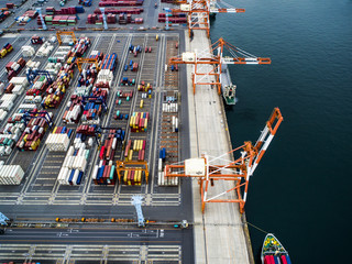 Container terminal in Japan