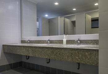 Luxury restroom