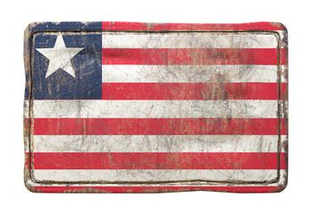 Old Liberia flag