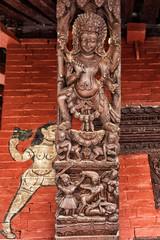 Bachhareshwari Temple, Pashupatinath, Kathmandu, Nepal
