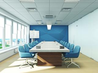 интерьер переговорной офис кабинет