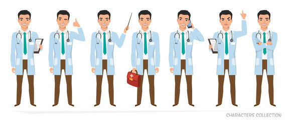 Asian doctor with a stethoscope