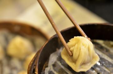 Traditional soup dumpling Xiao Long Bao