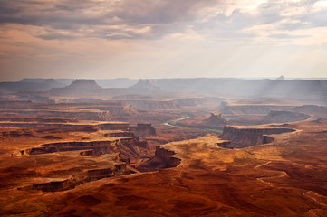 View on Canyonlands National park, Utah, USA