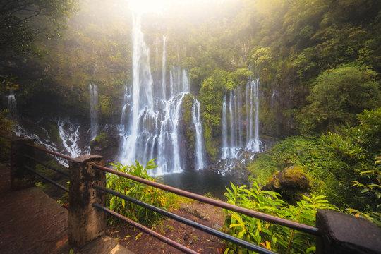 Cascade grand galet, Langevin, La Réunion