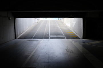 ramp access covered parking