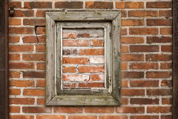 Brick Wall with False Window
