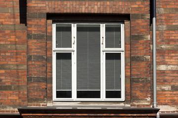 Window on Brick Wall in Copenhagen