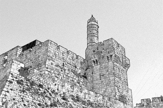 David's Tower, Old City Jerusalem, Israel