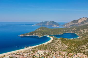 Idyllic seascape. Oludeniz. Turkey.