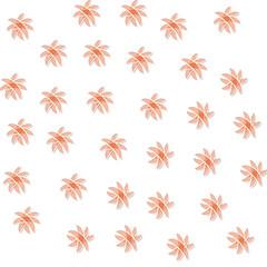 Abstract orange pattern