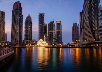 Mosque in Dubai Marina