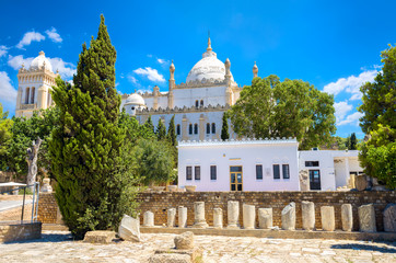 Cathedral of St Louis. Carthage, Byrsa Hill, Tunisia
