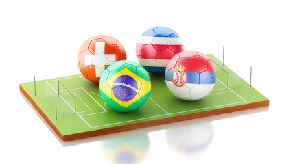 3d soccer world tournament Group E