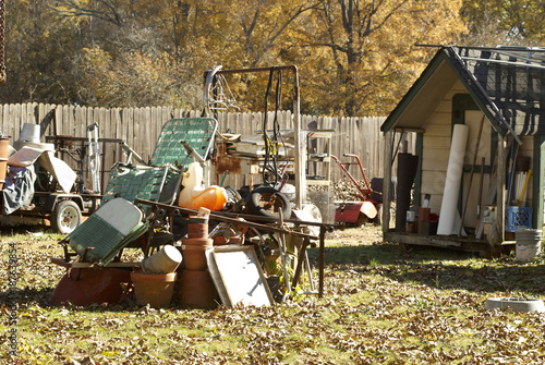 Old Backyard Junk