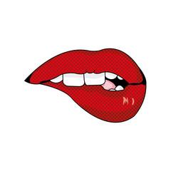 Mouth cartoon design