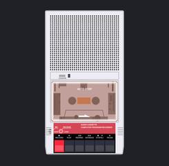 Cassette player 80s 90s